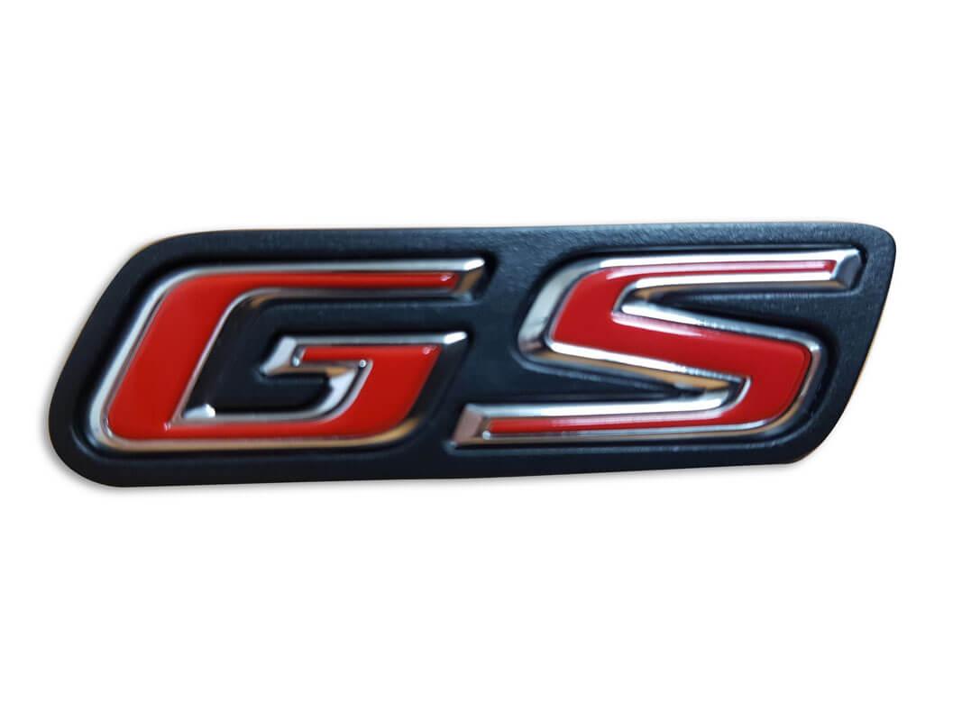 Logo GS sur siège Injection plastique