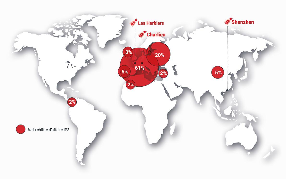 IP3 Entreprise internationale